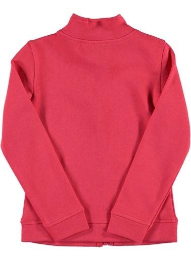 012 Benetton Sweatshirt Fuşya